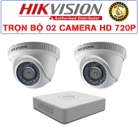 Bộ 2 Camera HIKVISION 1.0MP